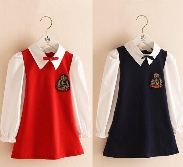 Red School Dresses