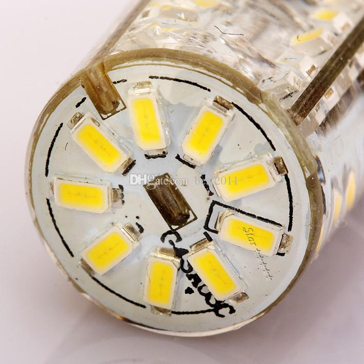 G4 3014 SMD 57 leds AC / DC 10-20 V G4 Lámpara Led Luces Led Iluminación para el hogar Bulbo de maíz Luz alta Lámparas de cristal Tubo Leds