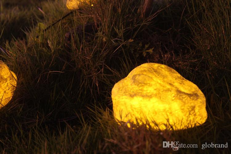 new design fashion garden light solar stone