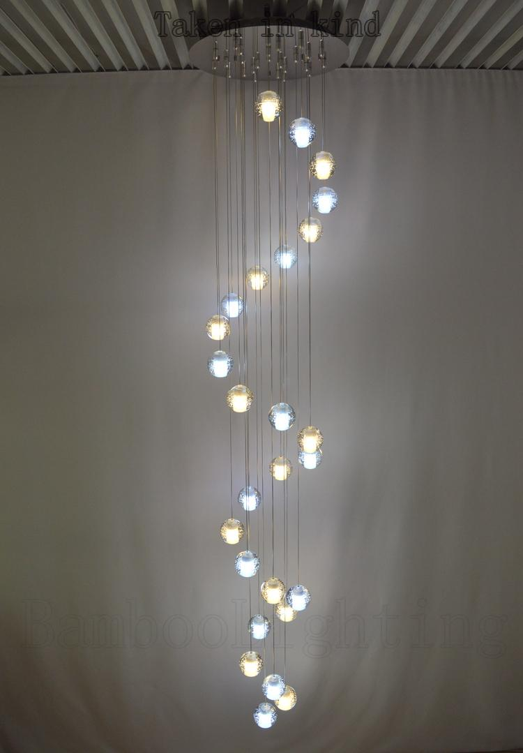 14 26 bubble glass ball led pendant lamp meteor shower crystal light 14 26 bubble glass ball led pendant lamp meteor shower crystal light sphere suspension lighting modern pendant drop ceiling light fixtures from arubaitofo Image collections