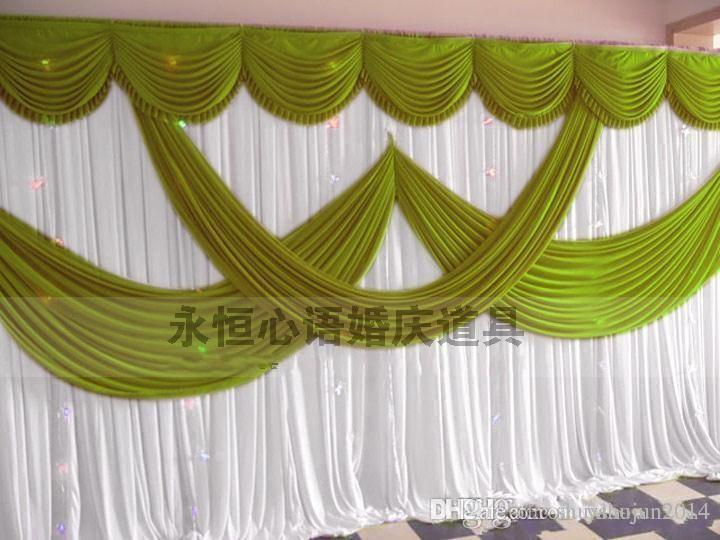 High Quality Wedding Backdrop Curtain Angle Wings Sequined Cheap