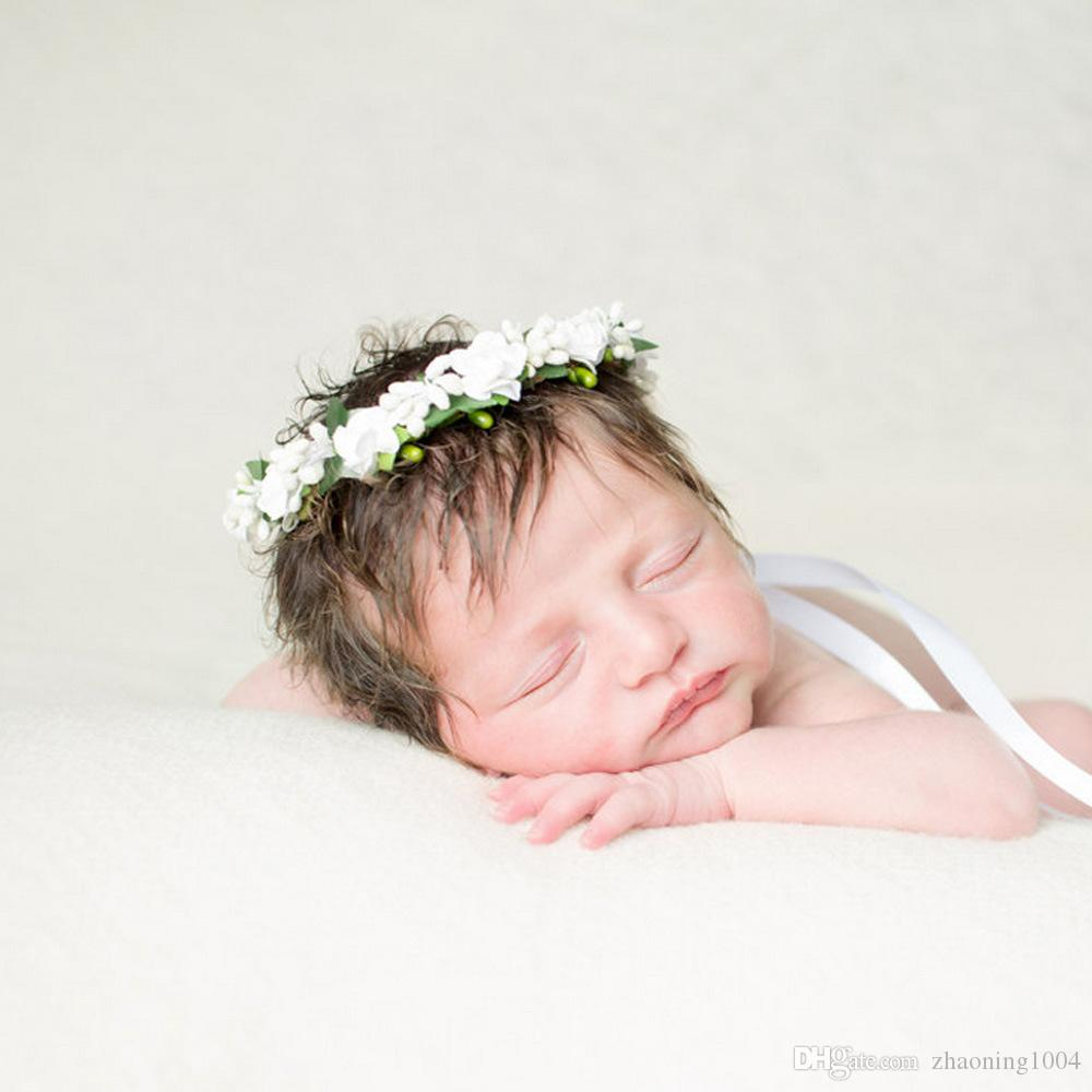 Kids flower crown headband hair wreath wedding flower girl tiaras kids flower crown headband hair wreath wedding flower girl tiaras wreaths garland boho crowns for children head pieces headwear fascinator children flower izmirmasajfo