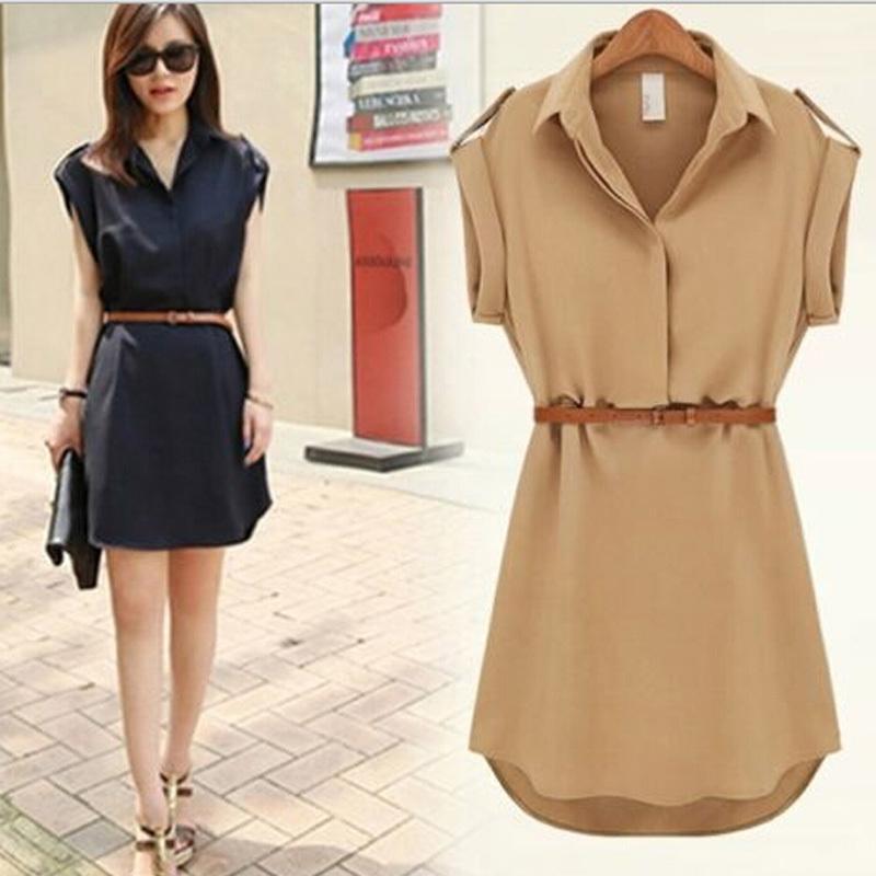 Summer Dresses with Belt