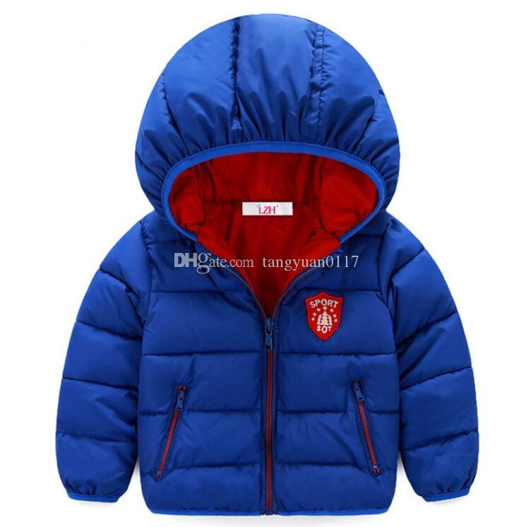 8d69af2f9 Baby Boys Jacket 2017 Autumn Winter Jackets For Girls Jacket Kids ...