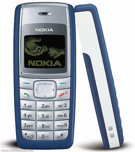 Remodelado Celular Original Nokia 1110 Celular Desbloqueado telefones  celulares baratos 1 ano de garantia Rede 2G