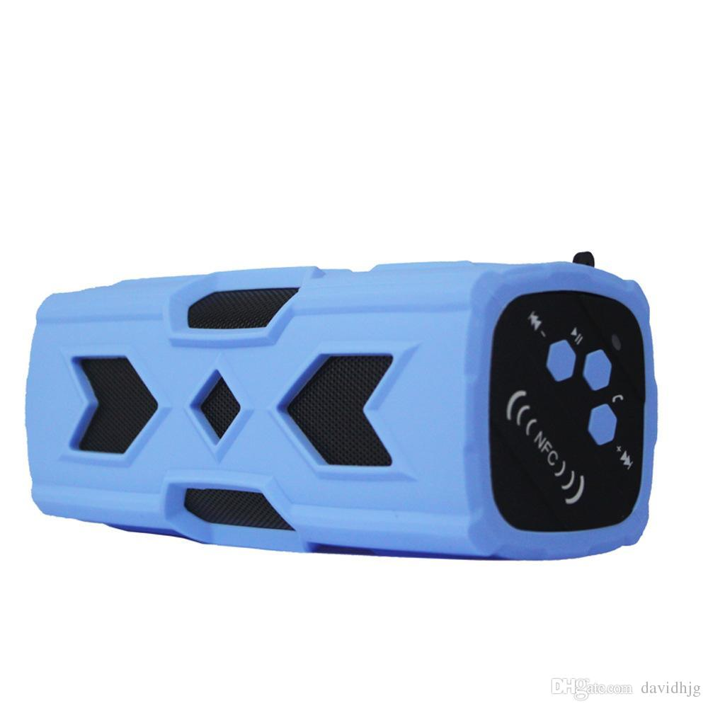 PT-390 Outdoor Shower Speaker Super Heavy Bass Music Sound Bar Bluetooth Wireless Speaker NFC Portable Soundbox for Sport Bike Cycling