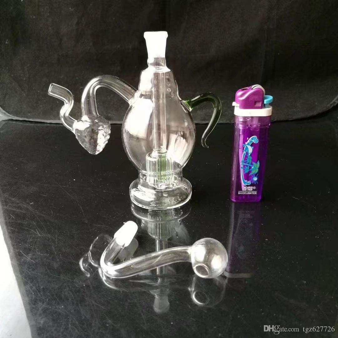 Plug-in Strawberry Jug, Großhandel Glas Zigarettenpistole Ölbrenner Glasrohr Wasserpfeife Öl Bohrturm Rauch Kostenloser Versand