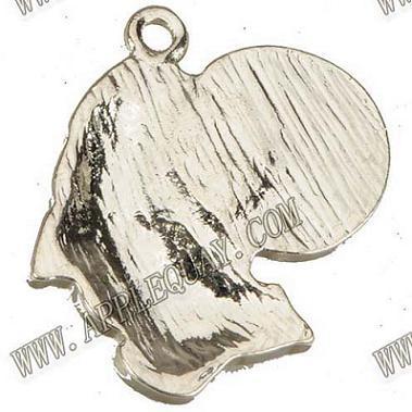 30 sztuk Nowy DIY Moda Biżuteria Ustalenia i Komponenty Metalowa Emalia Emalia Eramel Festiwal Sterling Sill Santa Claus Ojciec Charm 23 * 22mm
