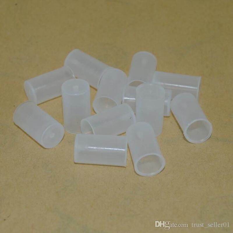 E sigarette eGo CE4 CE5 CE6 MT3 vaporizzatore vaporizzatore atomizzatore penne in silicone morbido drip tips antipolvere punta a goccia tappo monouso test bocchino