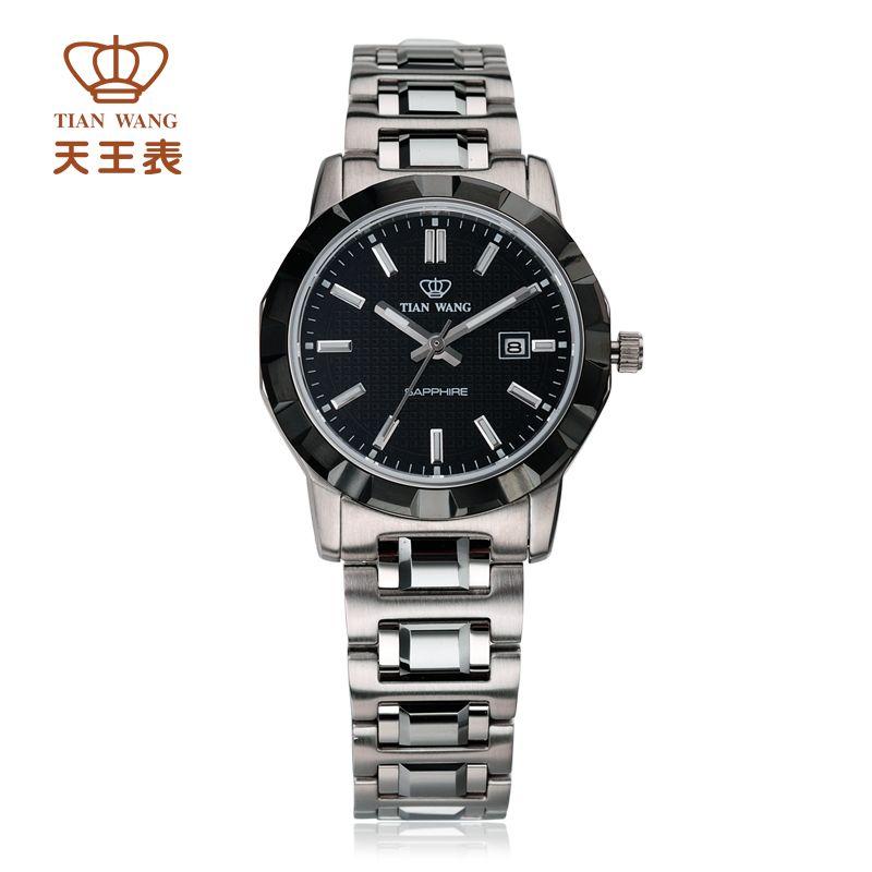 4e93487455d4 Compre Al Por Mayor Tian Wang Reloj Reloj De Cuarzo De Moda Bracelete Acero  Vendimia Señoras Impermeables De Las Mujeres Del Reloj Ls3660sb D A  490.66  Del ...