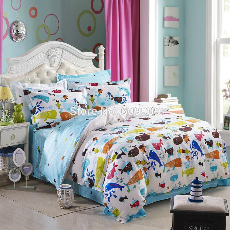 2018 Fish Theme Bedding Set Ocean Theme Bedding Ser Sea