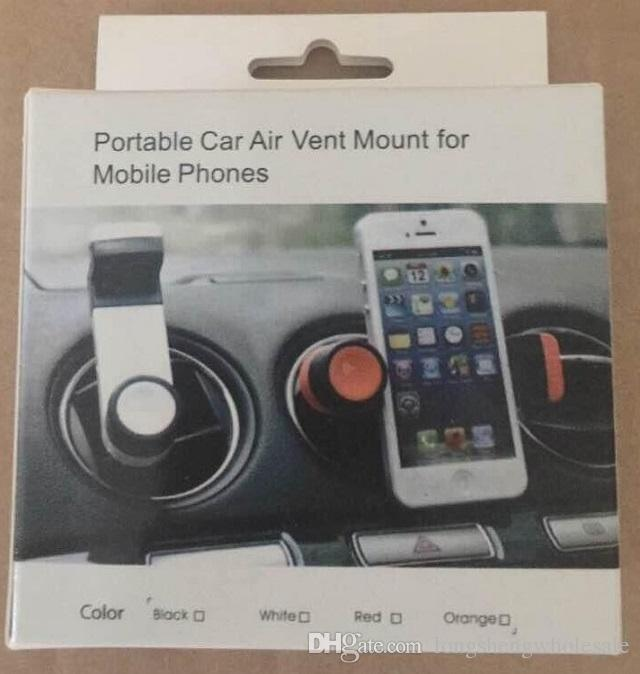 Practical Car Air Vent Mobile Phone Holder Mount for Cellphone iPhone 4/4S 5S Phone accessories