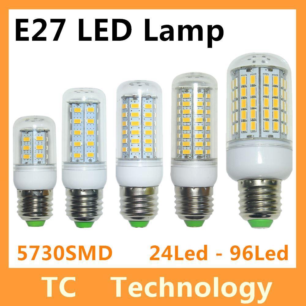 bombillas led bulb e27 smd 5730 lamparas led light g9 24 36 48 56 69 72 96led lampada e14 led. Black Bedroom Furniture Sets. Home Design Ideas