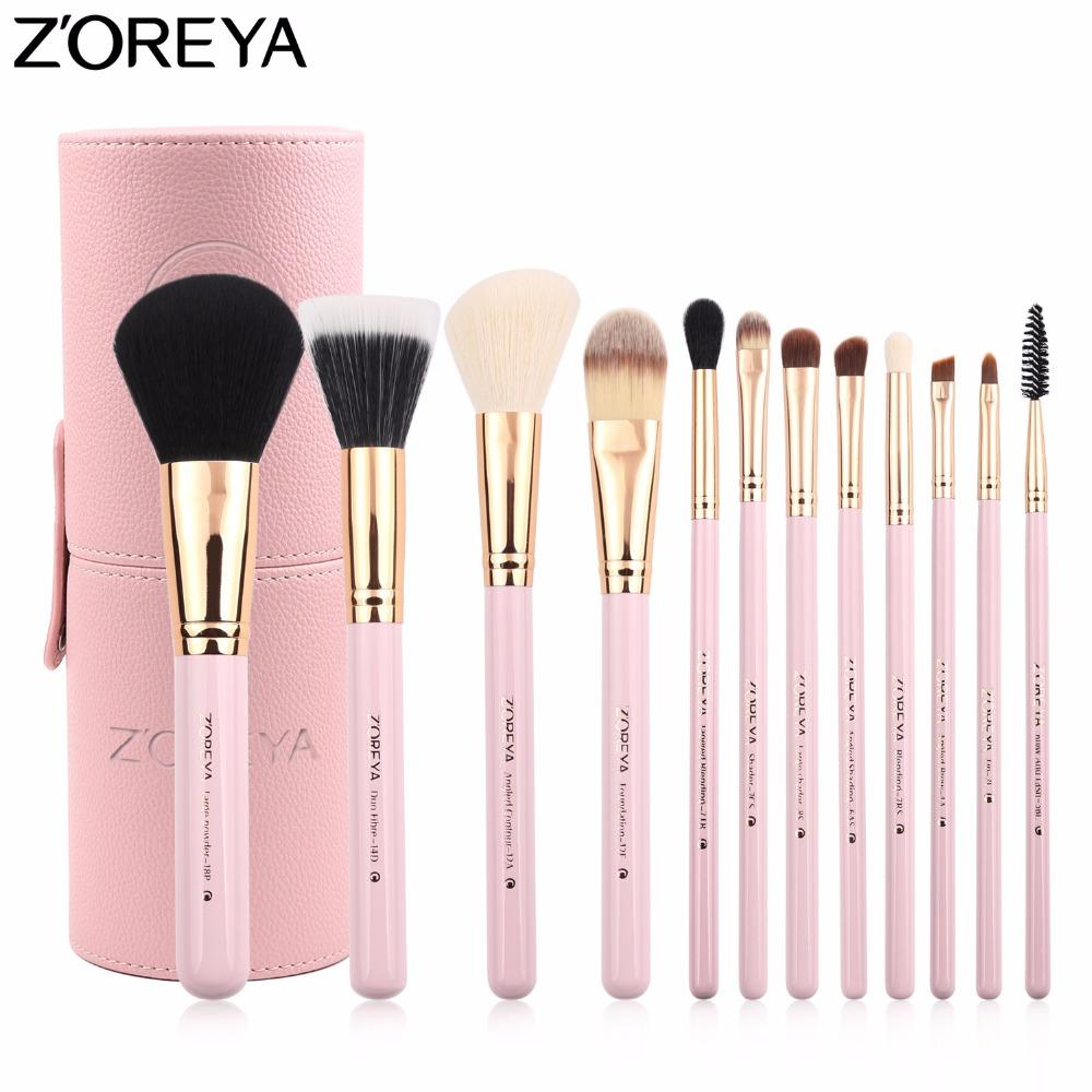 Best Makeup Brushes Foundation Cheap Gold Black Brush