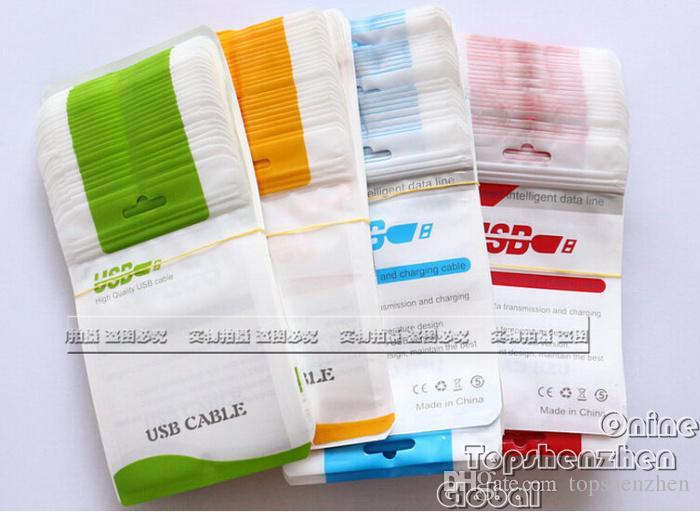 Молния упаковка мешок пластиковый пакет сумка для автомобильного зарядного устройства Micro USB кабель синхронизации данных аудио наушники для iPhone для Sumsung аксессуары