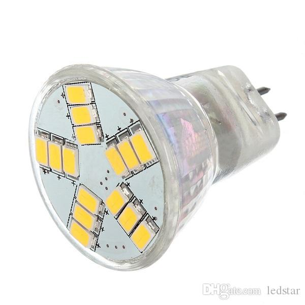 MR11 GU4 Led Spotlight AC/DC 12V 5730 SMD LED Lamp Bulb Energy Saving Led Spot Light Bulb Cool/Warm White