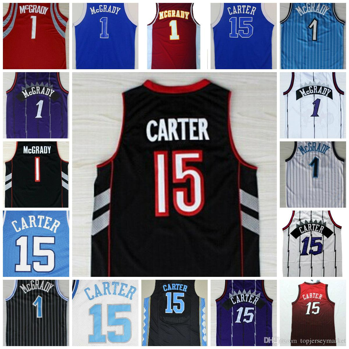 lowest price e1627 18bdf vince carter throwback jersey