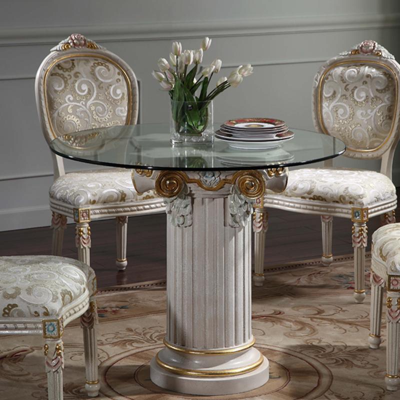 See larger image - European Antique Furniture -Crack Paint Hand Carved Furniture