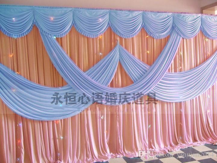 2015 New Designed 3 6m Wedding Party Stage Celebration Background