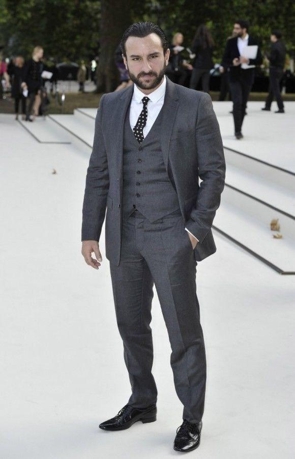3 Piece Dark Grey Suit - Go Suits