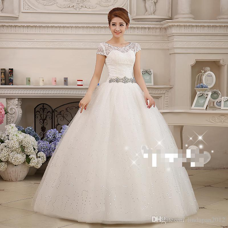 China Long Sleeves Wedding Dress Custom Made Lace Princess: Hot Sale China Custom Made 2 28W New Spring 2015 Korean