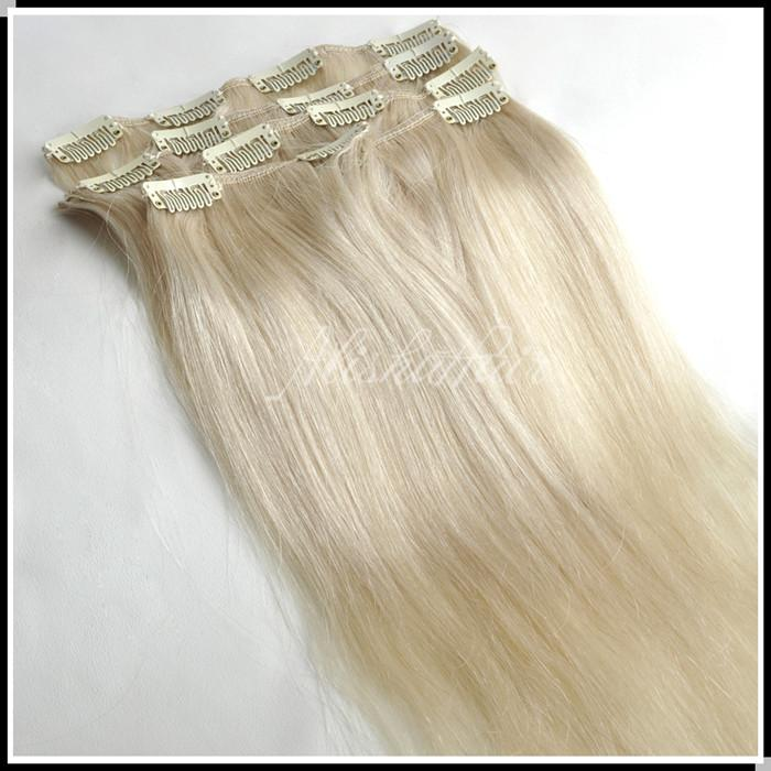 16 28inch clip in hair extensions 70g platinum blonde color 60 16 28inch clip in hair extensions 70g platinum blonde color 60 remy 100 human virgin brazilian hair extenisons weave pmusecretfo Image collections