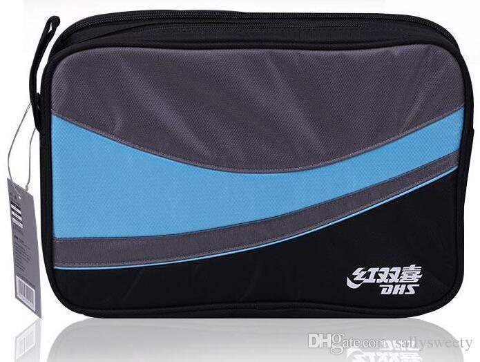 DHS double happiness RC109 RC110 square table tennis pats bag double set of Oxford cloth pingpong cover -high quality