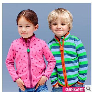 Export Quality New Spring Autumn Fleece Jackets Kids Boys Girls ...