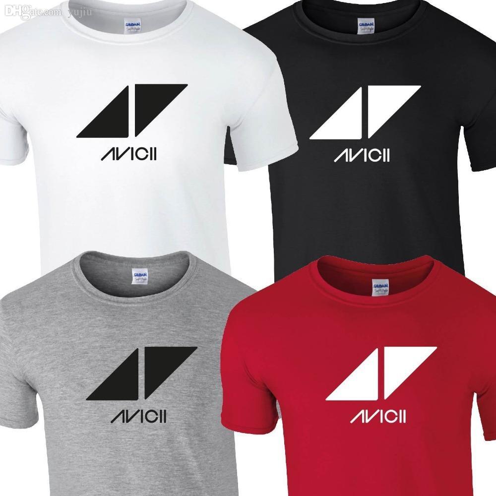 Wholesale Dj Avicii T Shirt Top Tee Tshirt Music Festival Tour Indie ...