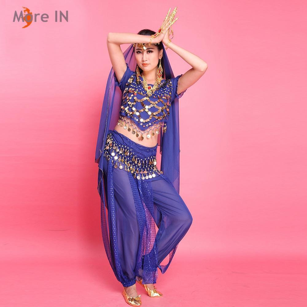 Compre Traje De Danza Del Vientre Para La Mujer Bollywood ...