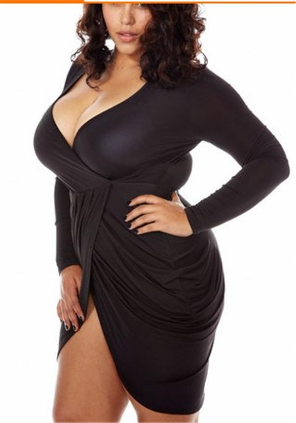cheap sexy short plus size dresses v neck womens night