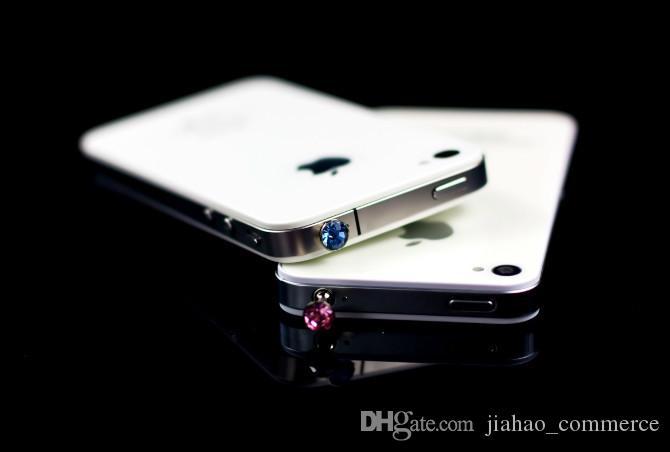 / 럭셔리 전화 액세서리 스마트 전화, 휴대 전화, 안 드 로이드 전화에 대 한 작은 다이아몬드 라인 석 3.5mm 먼지 플러그 이어폰 플러그