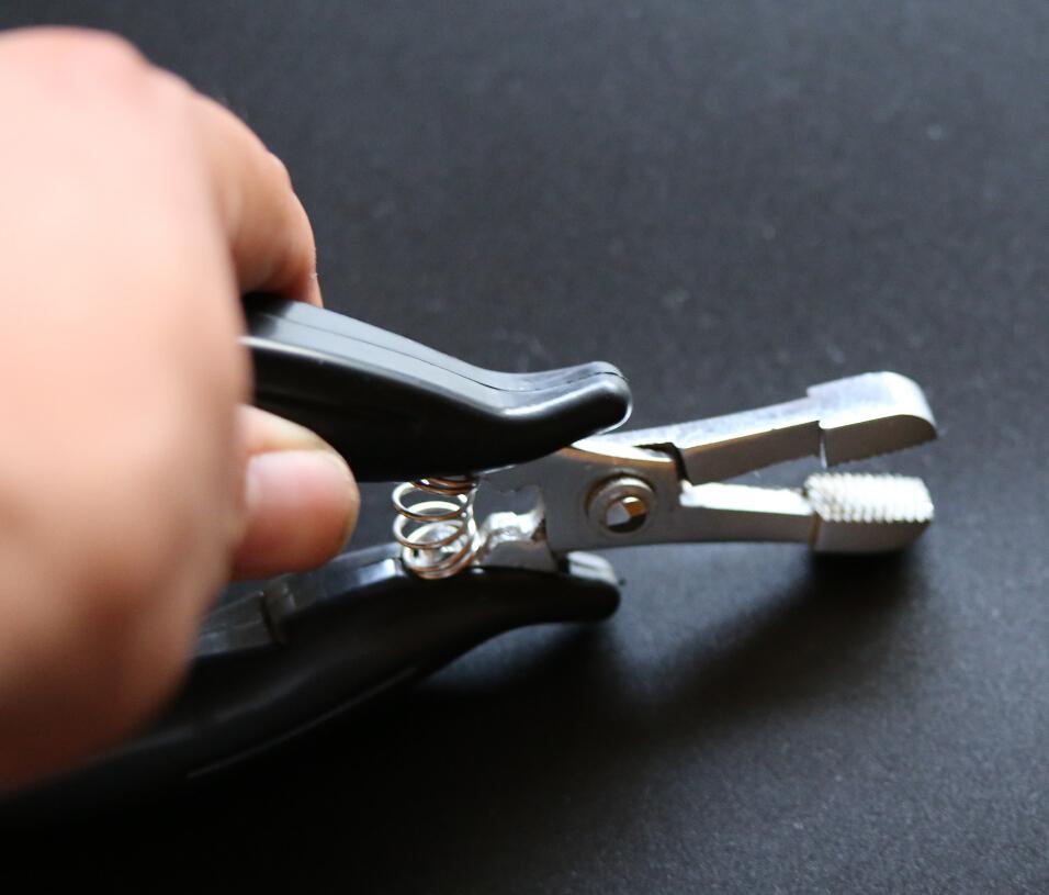 I- -Heat Fusion colle kératine Bonding / micro anneaux pinces de suppression pour les extensions de cheveux