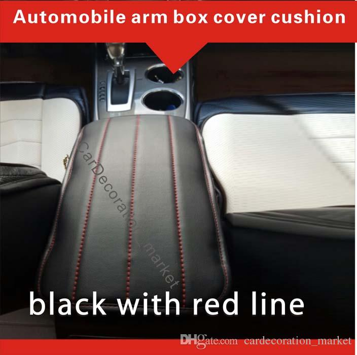 2005-2019 araba iç aksesuarları decorationToyota Corolla kol dayama kapağı yastık, Araç merkezi Konsol kutusu kapak pedi ön araba koltukları arasında