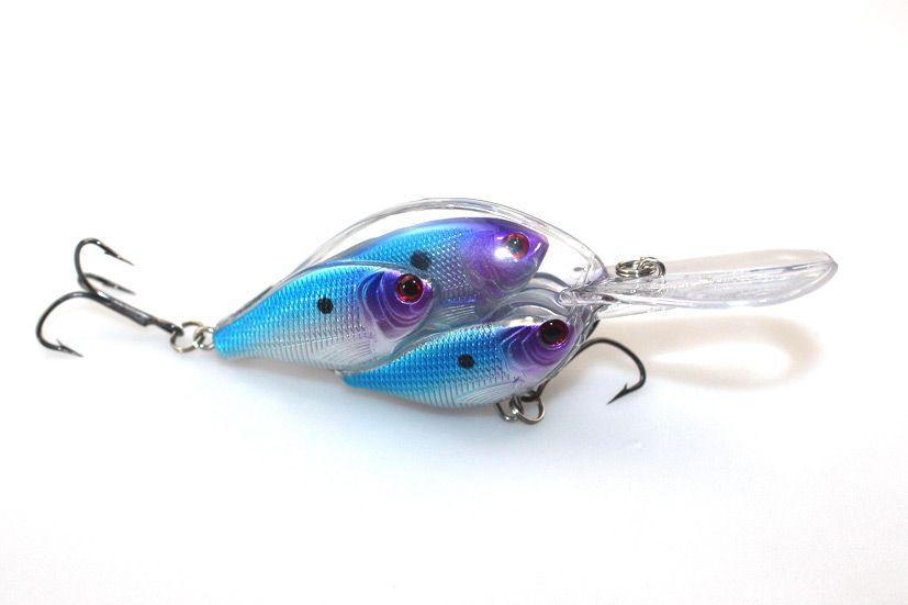 Wholesale Bionic Fish Shoal Fishing Hard Lures Plastic 3D Eyes Crankbait 6.5cm 18g for Bass Fishing