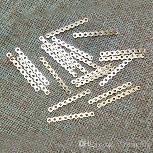 Anhänger Stecker Kaution 9 Stränge Reihen Loch Charms Halskette Armband Perlen Perle Spacer Schmuck machen Erkenntnisse Handwerk Komponentenzubehör