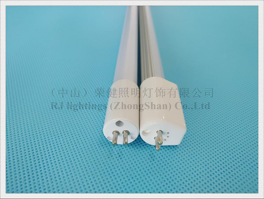 AC85-265V input T5 G5 LED tube lamp light fluorescent LED tube 600mm 900mm 1200mm 1500mm aluminum CE WW/CW clear/frost
