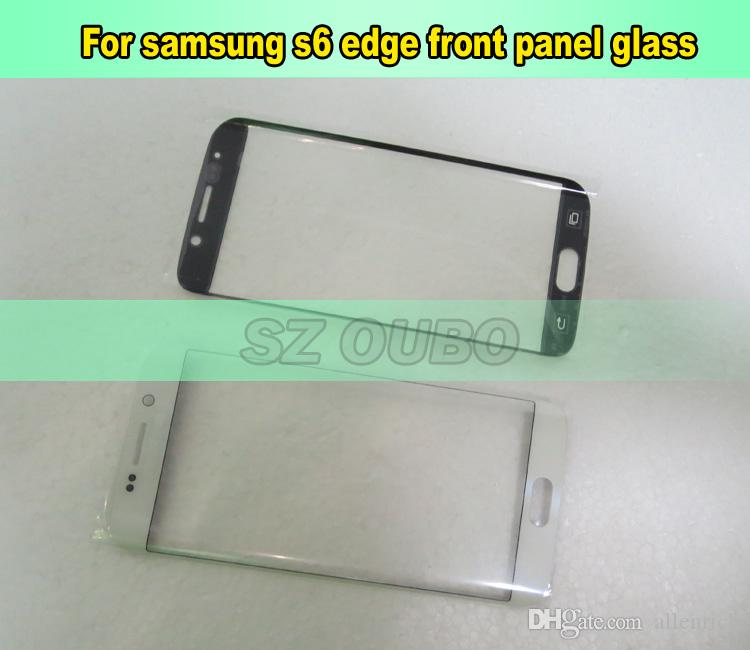cell phone parts touch screen panel for Samsung galaxy s6 edge phone glass replacement touch screen for s6 edge refurbishment