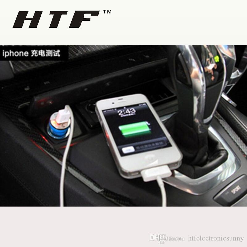 Bullet Mini USB Car fast Chargers Universal Adapter for iphone 5S 6 6S Plus Samsung Galaxy Note 5 HTC LG Cell Phone MP4