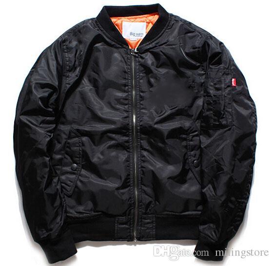 online store 1f080 9b746 Ma1 Bomber Jacket Big Sam Kanye West Yeezus Tour Pilot Anarchy Outerwear  Men Army Green Kanji Japanese Merch Flight Coat Blue Ja Coats And Jackets  For Men ...