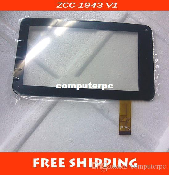 "Wholesale-7"" 189*112mm General Capacitive Touch Screen Glass ZCC-1943 V1 MID Tablet PC"