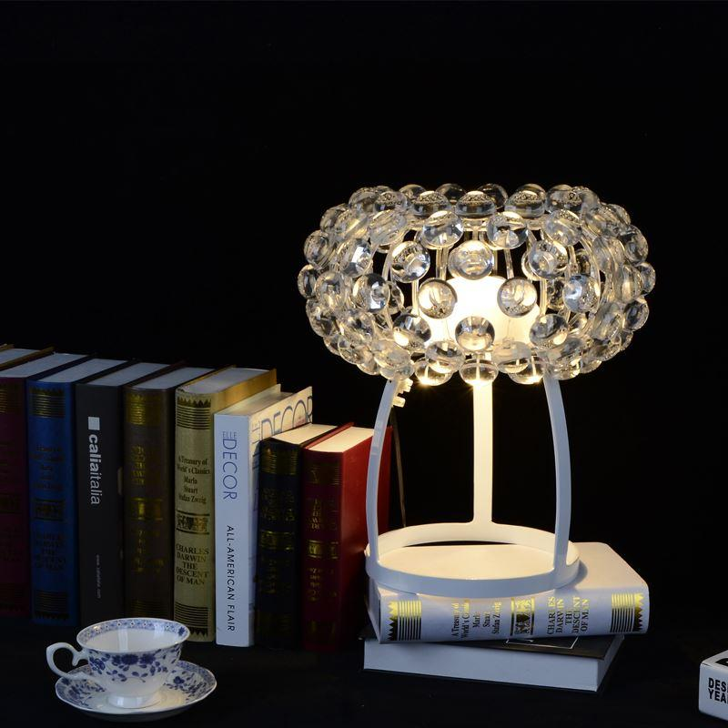 Caboche table lamp by patricia urquiola from foscarini dest light crystal cha - Patricia urquiola lampe ...