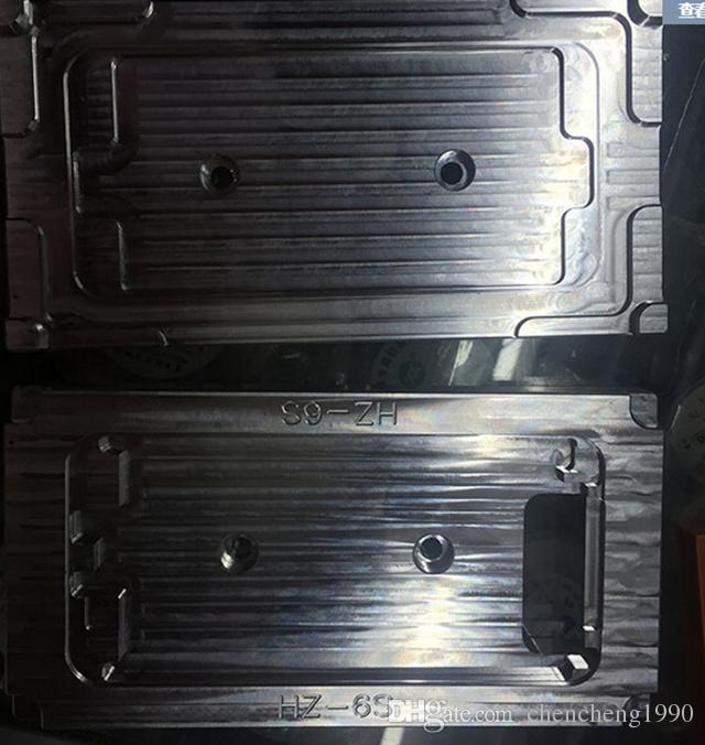 Pour iphone 6s 7G 7 Plus CNC Métal Moule Lcd Cadre rénové moules Pour Bezel Cadre Laminateur Machine