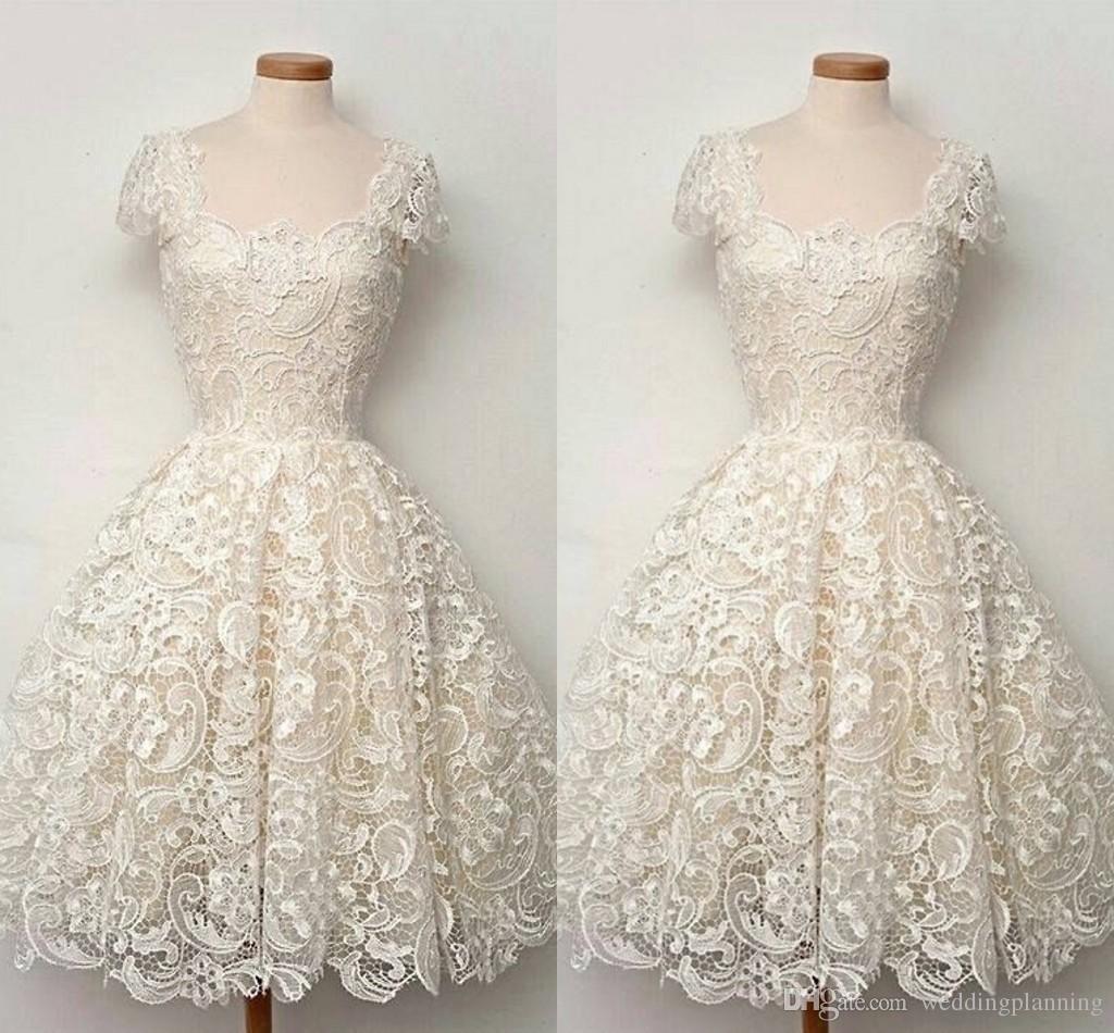 Luxury A Line Lace Wedding Dresses Formal Square Off Shoulder Ruched Applique Custom Made Beach