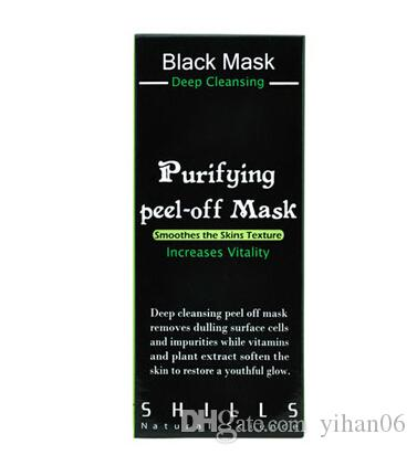 SHILLS Deep Cleansing Purifying Peel Off Mascarilla facial Facail de barro negro Nueva eliminación de puntos negros Máscara facial 50ml