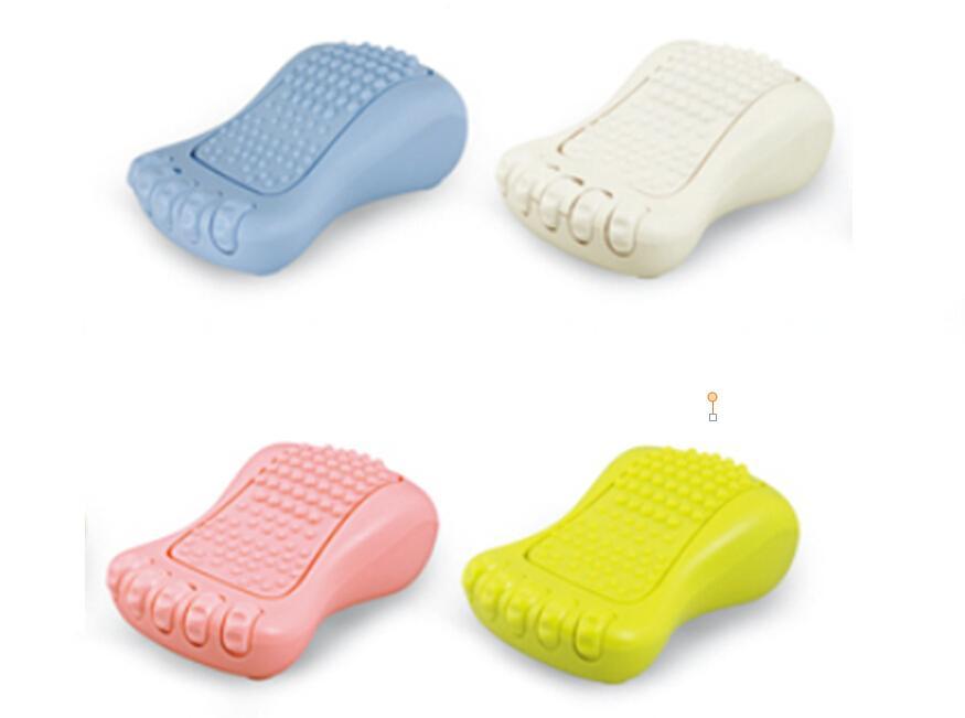 クリエイティブボールホームデュアル電気ミニフットマッサージ、プラグバッテリーデュアルフットケア、足の疲れを排除する携帯用マッサージ