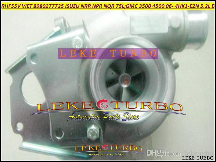 RHF55V VCA40016 8980277725 8980277730 Turbo turbine Turbocharger For ISUZU NRR NPR NQR 75L GMC 3500 4500 W-Series 06 4HK1-E2N 5.2L 150HP