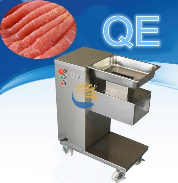 Großhandel - Kostenloser Versand 220V / 110V QE Fleischschneider, Fleischschneider, Fleisch-Schneidemaschine / Fleischverarbeitungsmaschinen