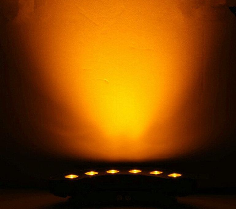 6 * 2W LED Underground Light 12 W LED Podziemna lampa Pogrzebana oświetlenie LED Outdoor Reklamowy Lampa Podłogowa