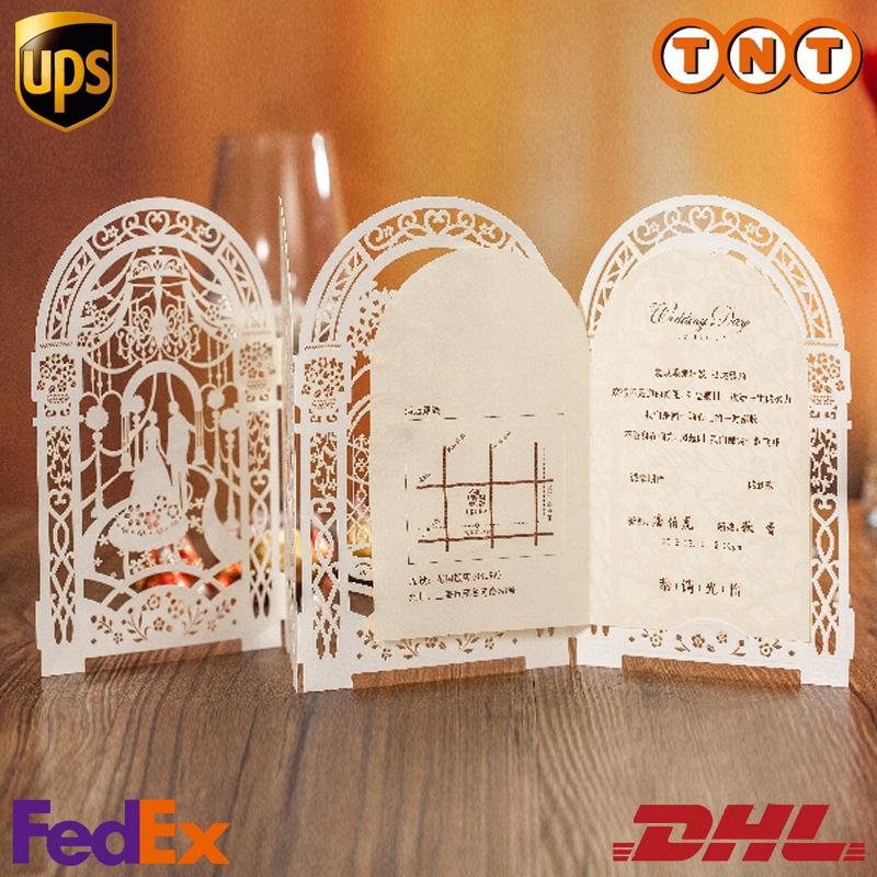 final cut pro wedding templates - birdcage hollow laser cut wedding invitations cards
